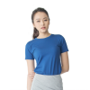 Women Supima Fitted Crew Neck Navy Blue-0
