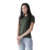 Women Supima Relaxed Fit Army Green-0