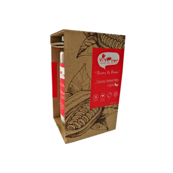 Cacao Salted Nibs (224g)-0