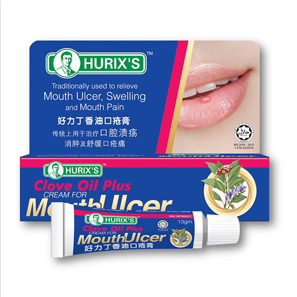 Hurix's Clove Oil Plus Cream for Mouth Ulcer (13gm)-0