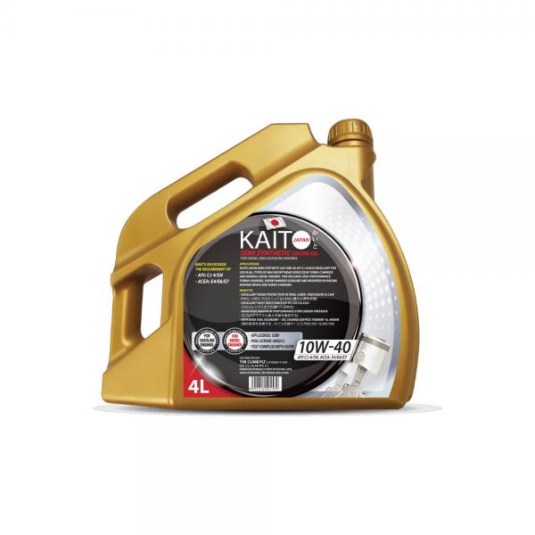 Kaito Japan 10W40 CJ-4SN Semi Synthetic Engine Oil (4l)-9027