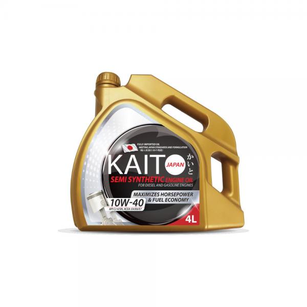 Kaito Japan 10W40 CJ-4SN Semi Synthetic Engine Oil (4l)-0
