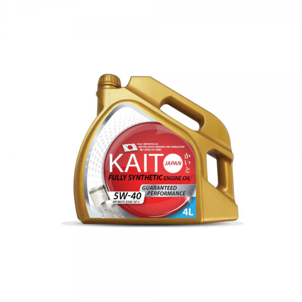 Kaito Japan 5W40 SNCF Fully Synthetic Engine Oil (4l)-0