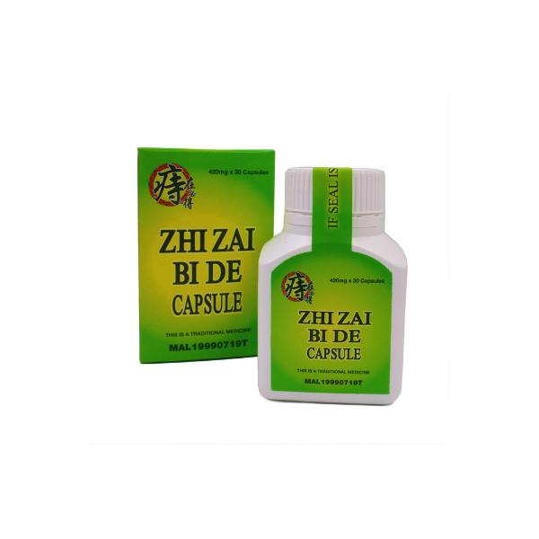 Zhi Zai Bi De - Xiao Lao Capsule (420mg x 30 caps)-0